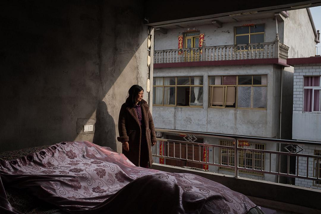 2019年3月27日,大灣新村的一個居民房間。