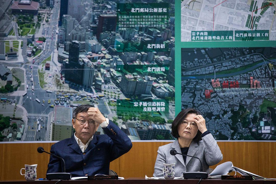 2018年12月13日,台北市長柯文哲與總統蔡英文會面,聽取林欽榮等人說明「西區門戶計畫」相關成果。