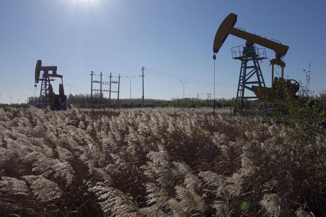 2018年10月18日,中國大慶油田。