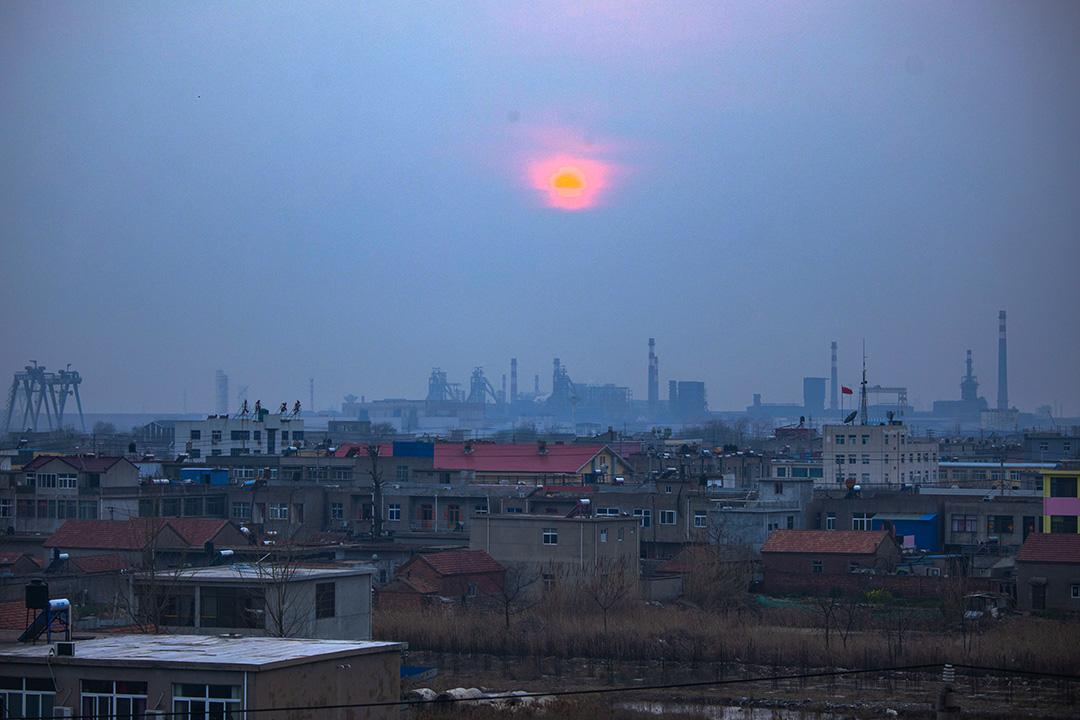 2019年3月24日,陳家港鎮。