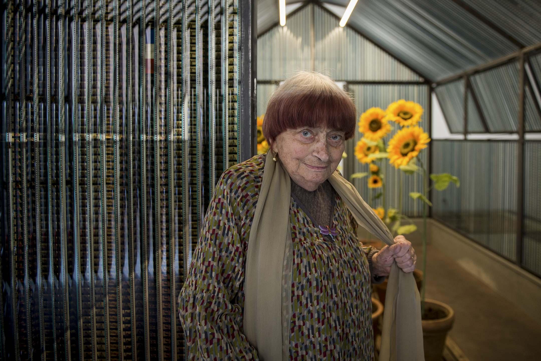 2019年3月29日,被譽為「法國新浪潮之母」的導演Agnès Varda在巴黎去世,享年 90 歲。 攝:Guillaume Souvant/AFP/Getty Images