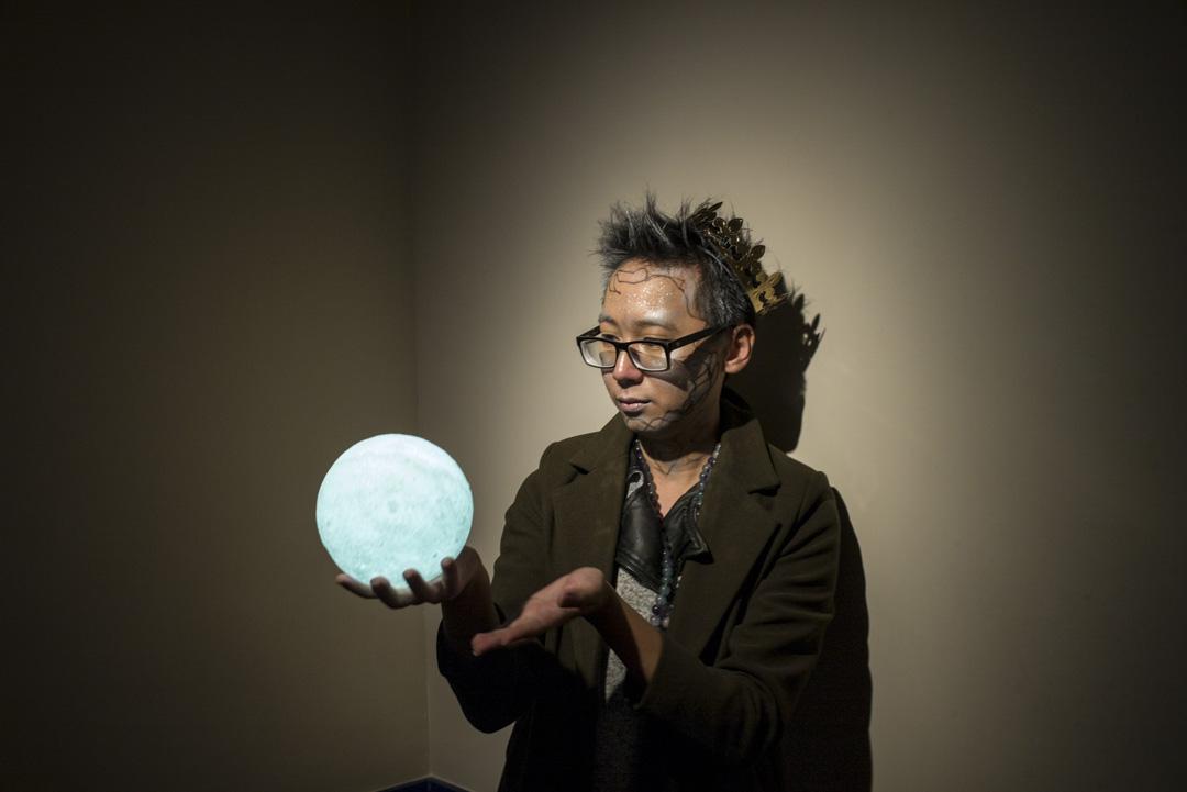 開放文化站的負責人陳可樂。