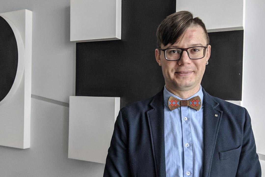 37歲的基輔莫希拉學院政治學助理教授雅各列夫(Maksym Yakovlyev)。