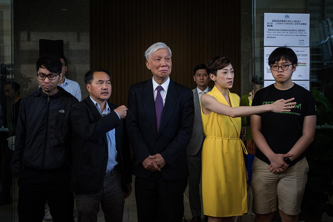 2019年4月24日,佔中九子案在西九龍裁判法院判決,陳淑莊因身體問題延後判刑,朱耀明、鍾耀華、李永達獲緩刑,張秀賢被判社會服務令。