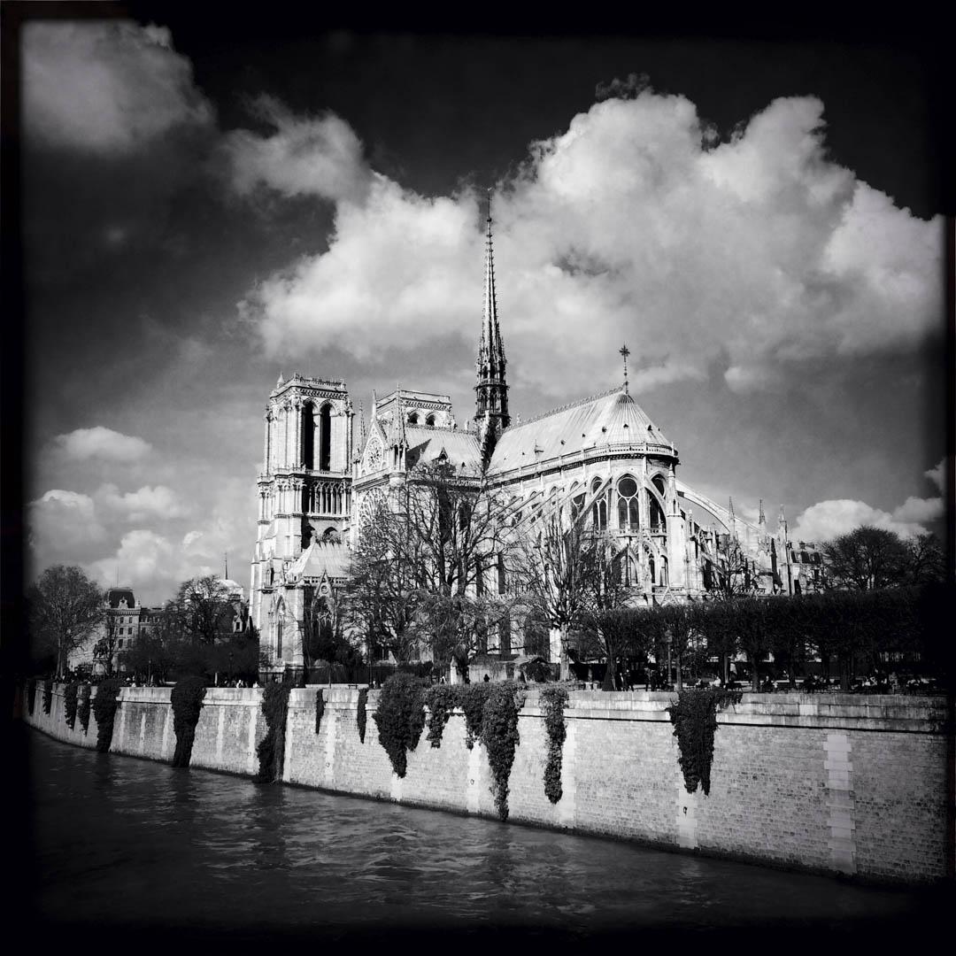 2014年,巴黎聖母院大教堂。
