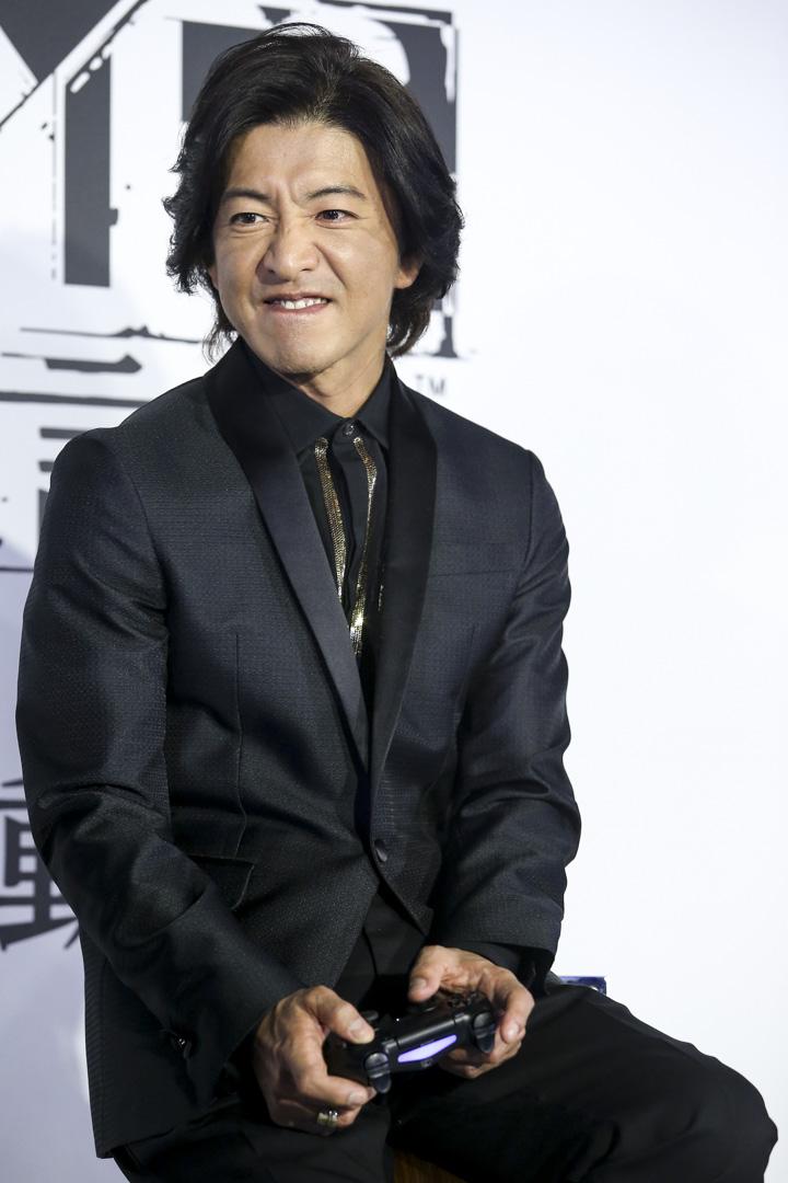2018年12月2日,木村拓哉出席台北電玩活動。