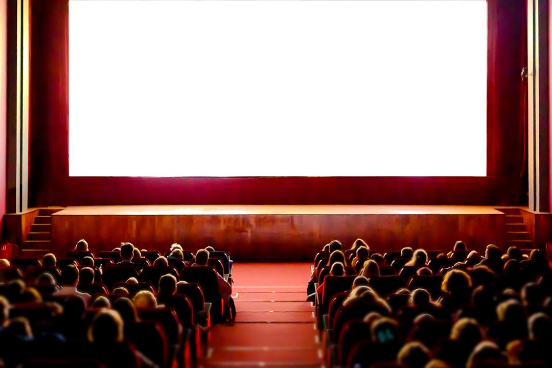 觀眾在電影院觀看電影。 圖:Getty Images