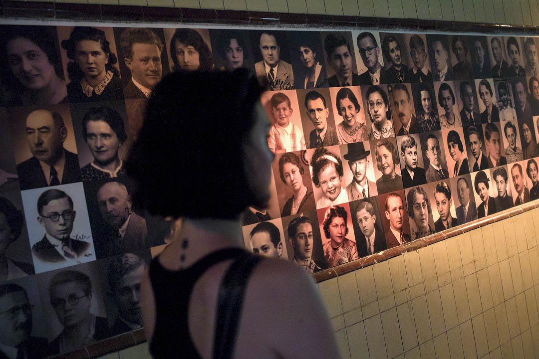 2013年一個展覽展出二戰時期被害的猶太人肖像。