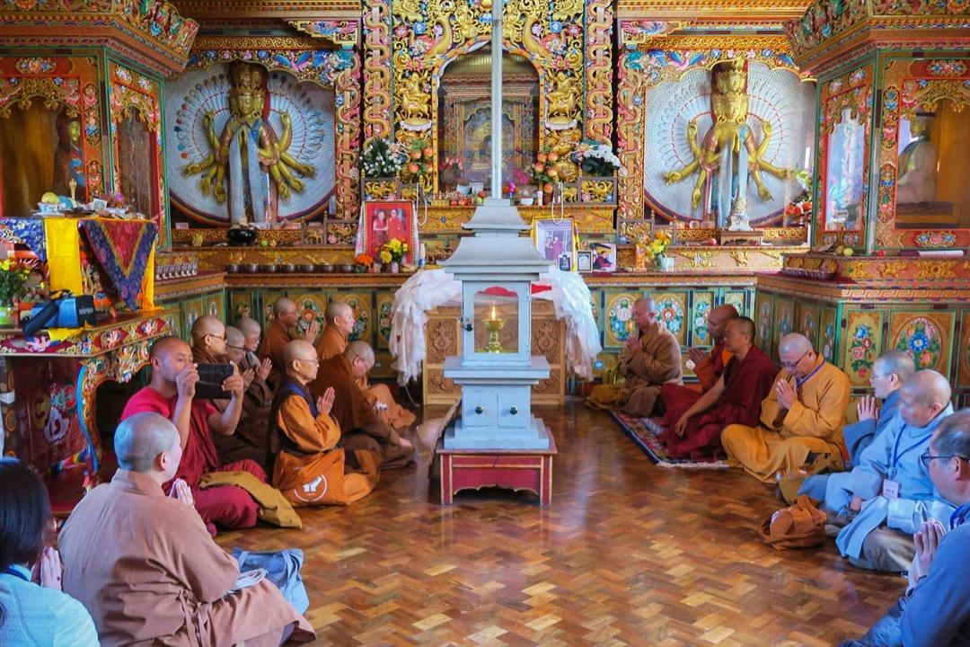 拉達克寺廟。