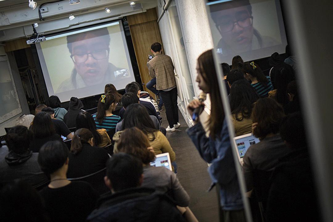 今年初,吳迪受邀以視訊對談方式,和台北的聽眾分享FAPA如何進行美國國會遊說。
