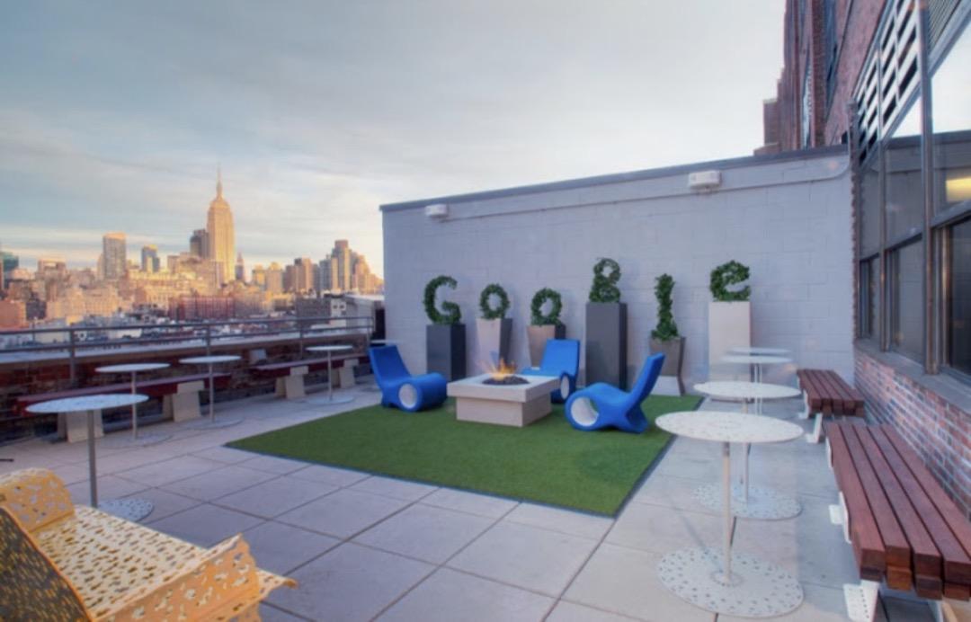 谷歌紐約辦公室。
