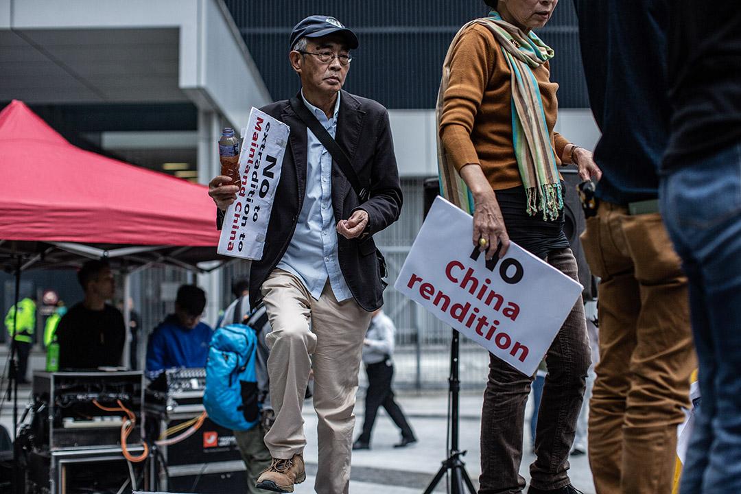 2019年3月31日,林榮基在香港參與「反對修訂引渡條例」遊行。