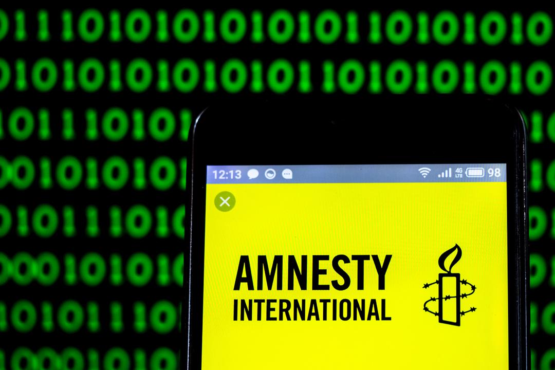 國際特赦組織(AI)香港分會今天表示,分會的電腦系統近月遭受「國家級」精密網絡攻擊,有分會職員及捐款者的個人資料可能已經外洩。 圖片:Igor Golovniov / SOPA Images / LightRocket via Getty Images