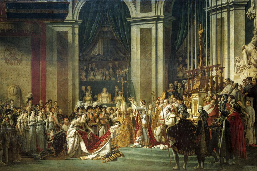 《拿破崙加冕》。