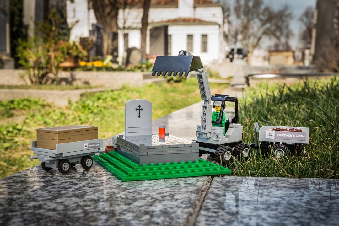 樂高推出「葬禮」主題的積木系列,旨在讓孩子了解死亡。 網上圖片