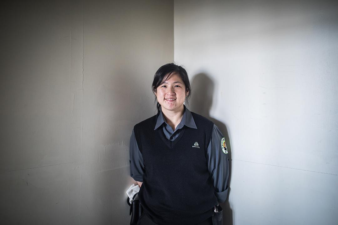 助理訓練師楊琇琄。