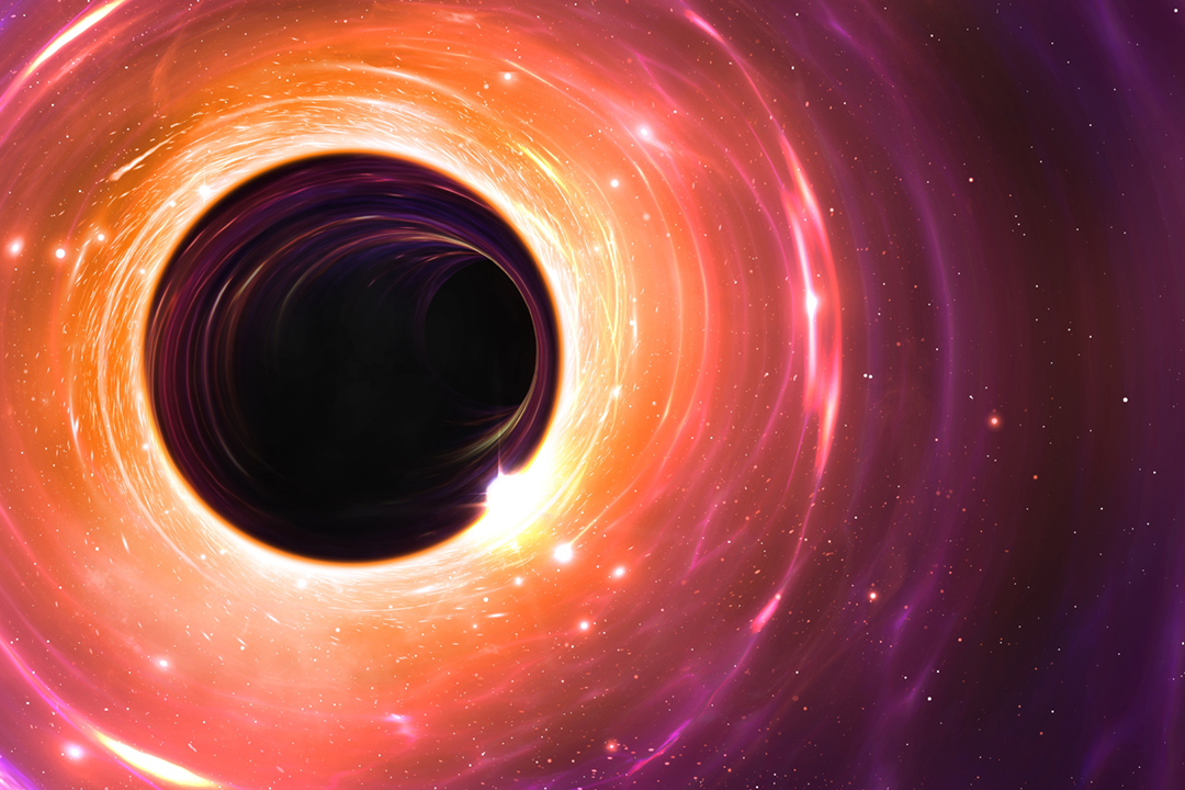 人類此前只能憑理論及想像繪製黑洞面貌,直至全球科學家合作拍攝出史上首張黑洞照片,照片將於香港時間今天(10日)晚上9時面世。 圖片來源:Mark Garlick / Science Photo Library / Getty Images