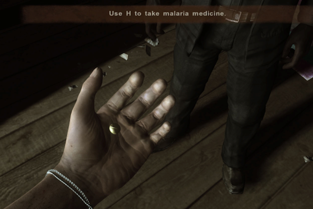 《孤島驚魂2》得了瘧疾以後。