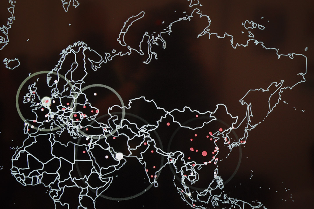 2017年6月22日,波蘭舉行的北約CWIX互操作性演習,正在進行有關網絡戰和安全的演練。