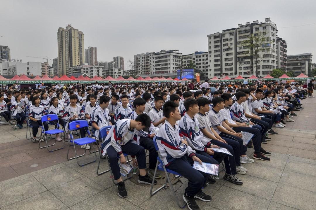 2019年4月9日,廣東省一個「三下鄉」活動在韶關市舉辦。 圖:IC photo