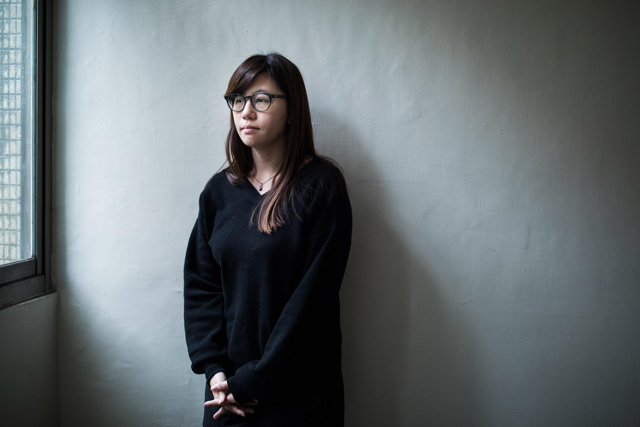 紀錄片導演傅榆。