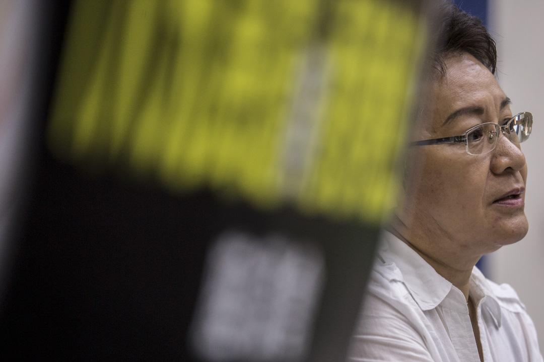 1989年於《星島晚報》擔任記者,被派往北京報導八九民運,直擊學生絕食、官方開槍的過程的梁慧珉。