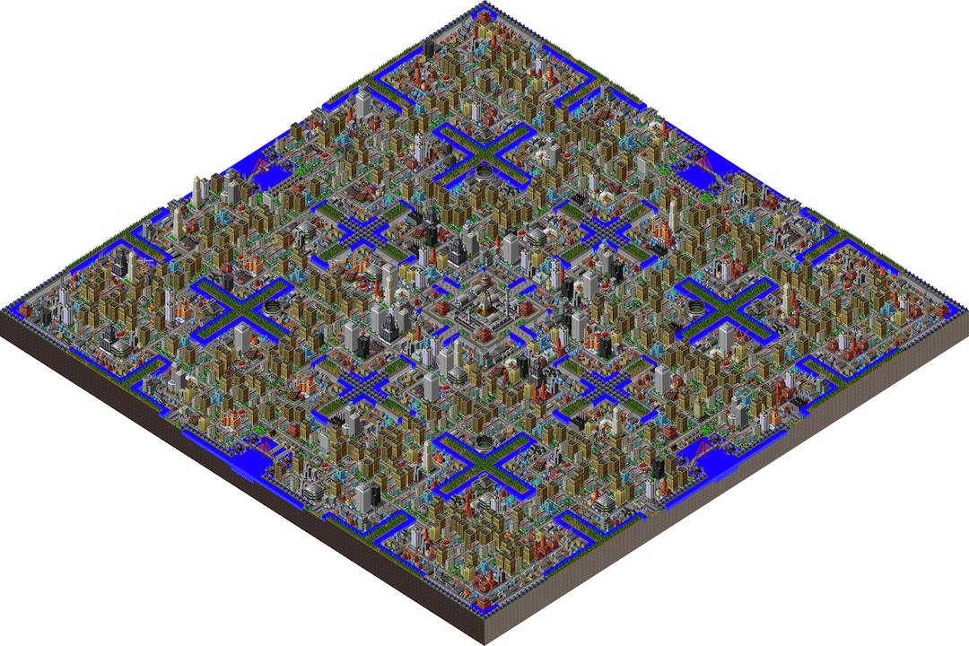 《模擬城市2000》截圖