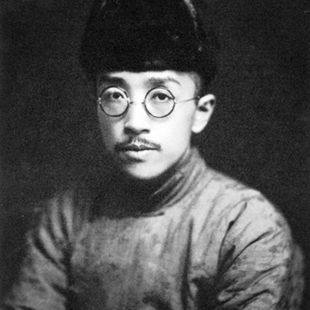 1921年的胡適。