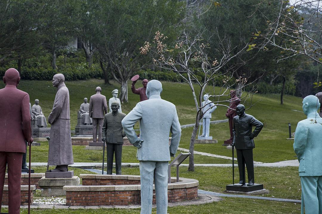慈湖紀念雕塑公園。 攝:林振東/端傳媒