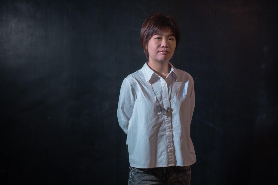 文己翎。 攝:Stanley Leung/端傳媒