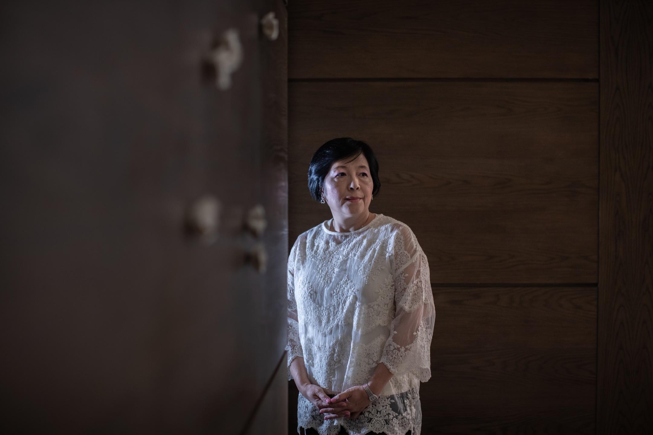 陳潤芝:「我只是觀察者,不可能改變任何事情。作為一個小小的記者,我唯一的作用,就是告訴大家,這件事(六四清場)是不對的,十年、二十年、三十年都是不對的。」 攝:Stanley Leung/端傳媒