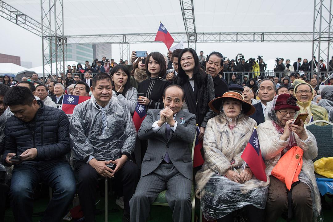 2019年3月7日,前立法院長、國民黨立委王金平在在台北國際會議中心頂樓宣布參選2020年總統。