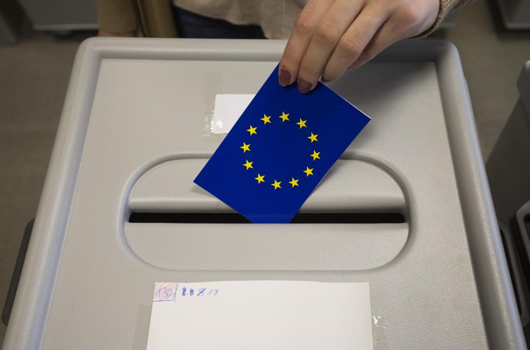 歐洲議會符合資格的選民約有3.74億人,代表28個成員國的5.12億人口。