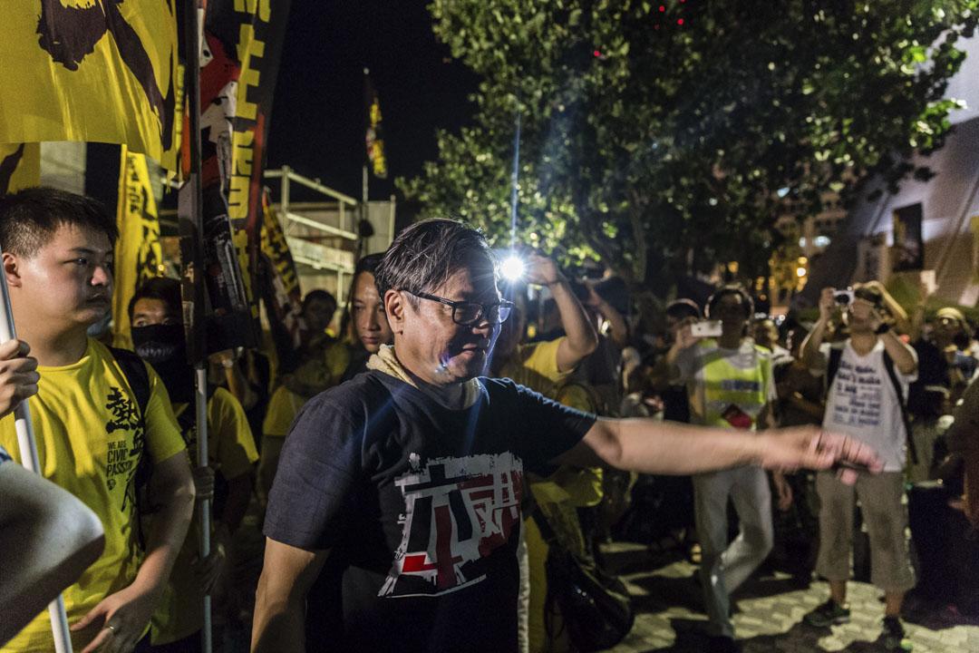2015年6月4日,普羅政治學苑、熱血公民、本土民主前線、香港本土力量等本土派團體聯辦「遍地開花六四集會」,有參加者批評支聯會於維園的集會流於形式,多年來根本沒有實際行動,因此轉為支持尖沙咀的集會。