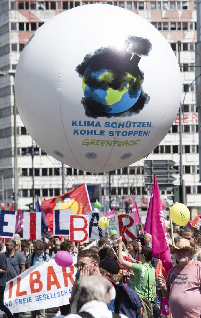 2019年5月19日,德國柏林舉行「全民歐洲 - 反對民族主義」活動。
