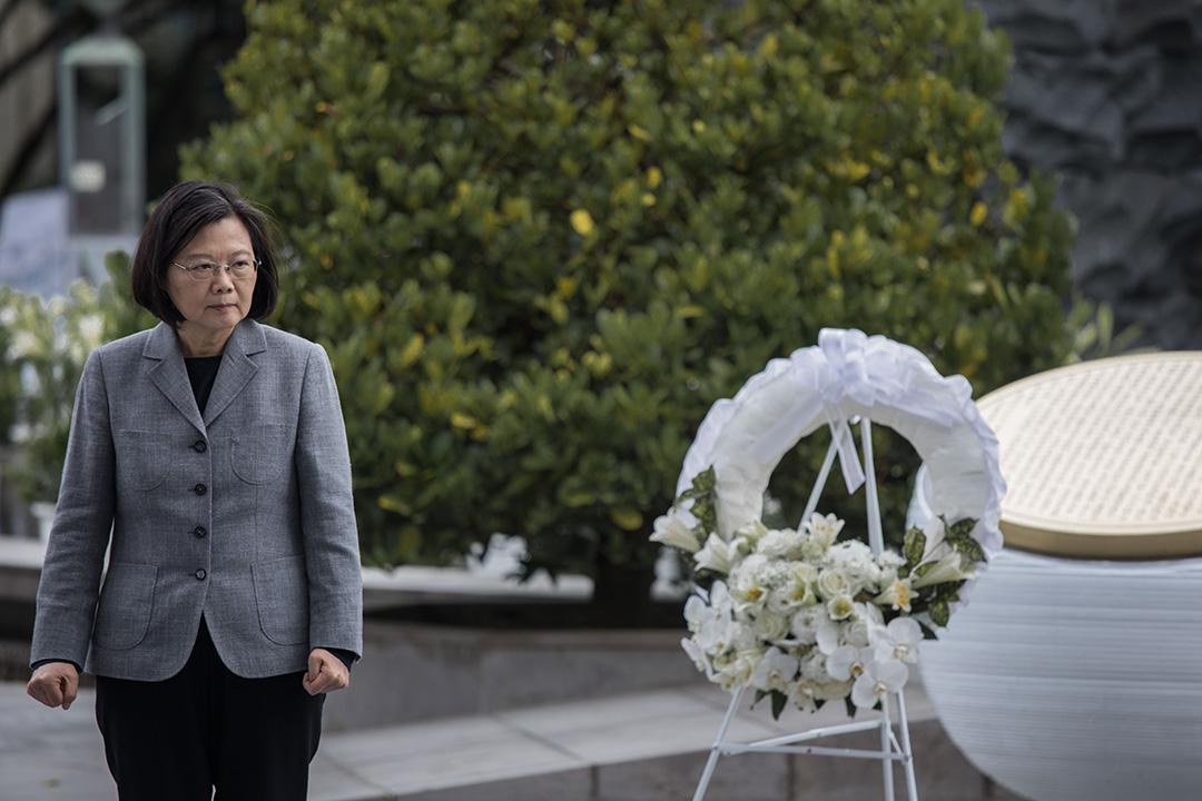 2019年2月28日,蔡英文出席228紀念活動。
