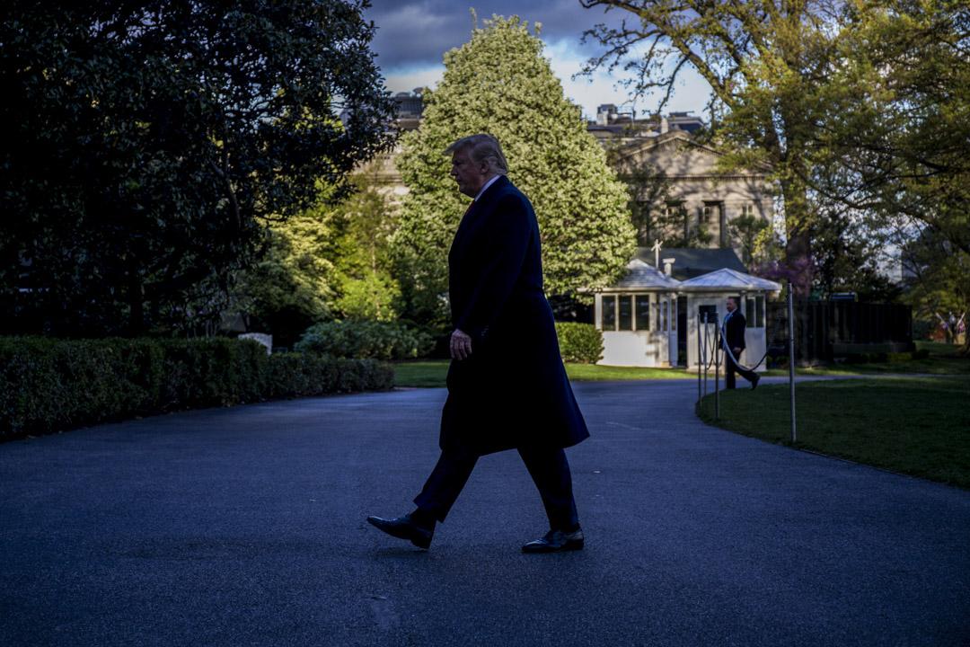 2020年總統選舉的政治壓力將迫使特朗普對中國保持強硬,而下一任總統的不確定性將使北京有動力觀望等待,而這些因素都將拖延談判的時間。 攝:Zach Gibson/Getty Images