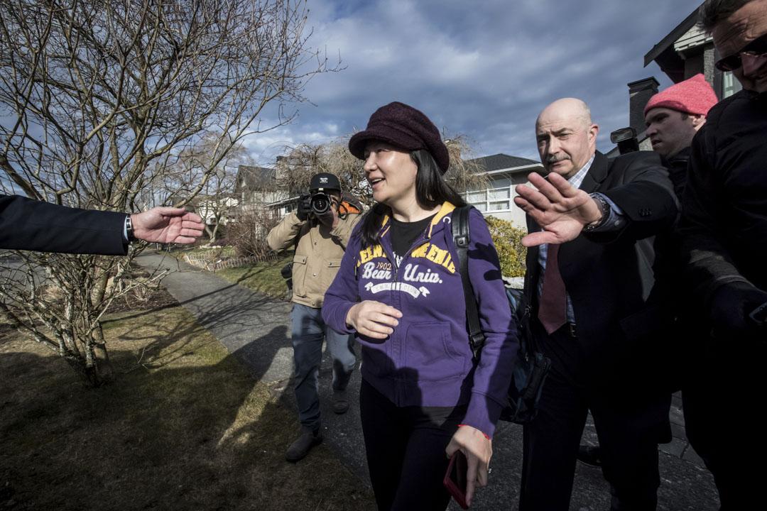 2019年3月6日,孟晚舟在温哥華的卑詩省最高法庭再次出庭。經過17分鐘的庭審,卑詩省檢察方(Crown Council)律師表示與辯方律師團隊達成協議,將此案延期至2019年5月8日再審理。