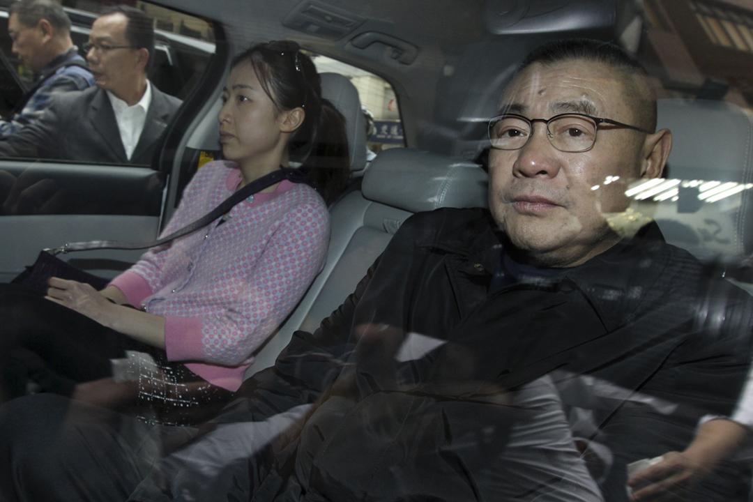 華人置業前主席劉鑾雄早前就港府建議修訂《逃犯條例》入稟申請司法覆核許可,惟今早宣布撤回申請,理由是希望減少社會上的爭拗。 攝:Dickson Lee / SCMP via Getty Images