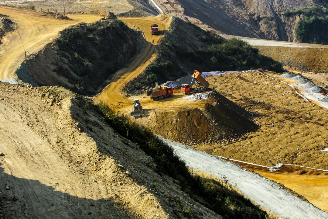 稀土礦產開發。 攝:Imagine China