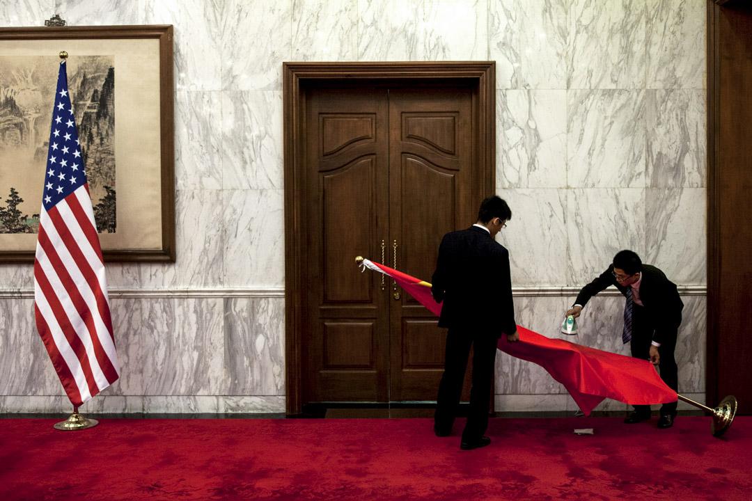 中國領導的和美國領導的有界秩序,可能推動二者間幾乎肯定會發生的安全競爭。軍事聯盟將成為這兩個秩序的核心組成部分,這兩個秩序現在已經開始形成,並將類似於冷戰時期由蘇聯主導和美國主導的秩序。 攝:Alexander F. Yuan-Pool/Getty Images