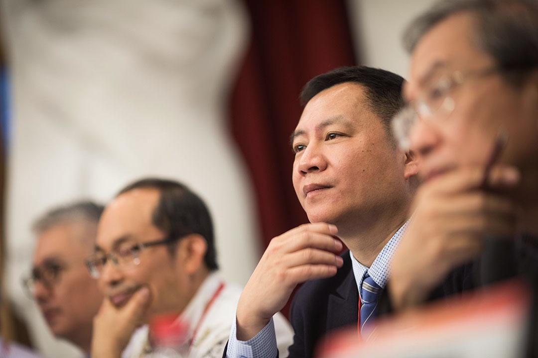 2019年5月19日,八九民運領袖王丹參加華人民主書院與支聯會舉行「六四事件30周年中國民主運動的價值更新與路徑探索研討會」。