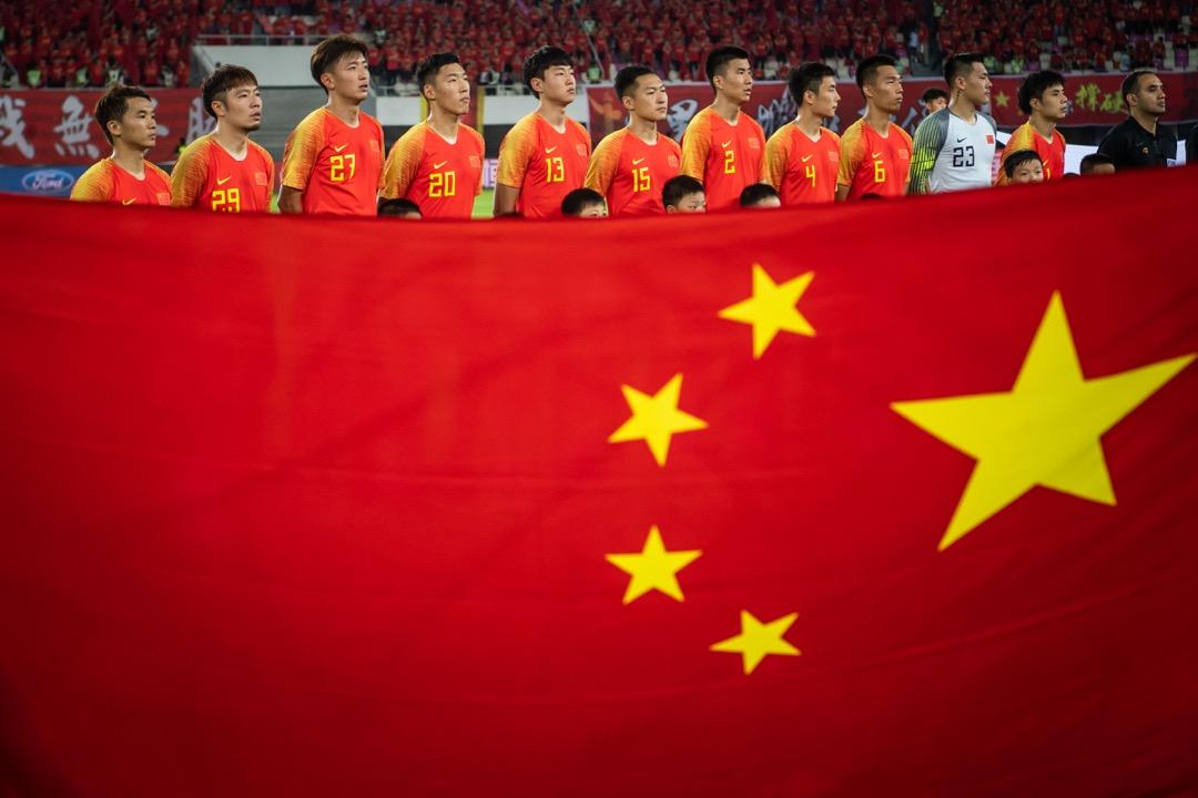 一直以來,足球都是緊密關乎中國國家形象的運動,參加世界盃意味着國家富強、經濟繁榮、民眾對國家認同度高。 圖:Imagine China