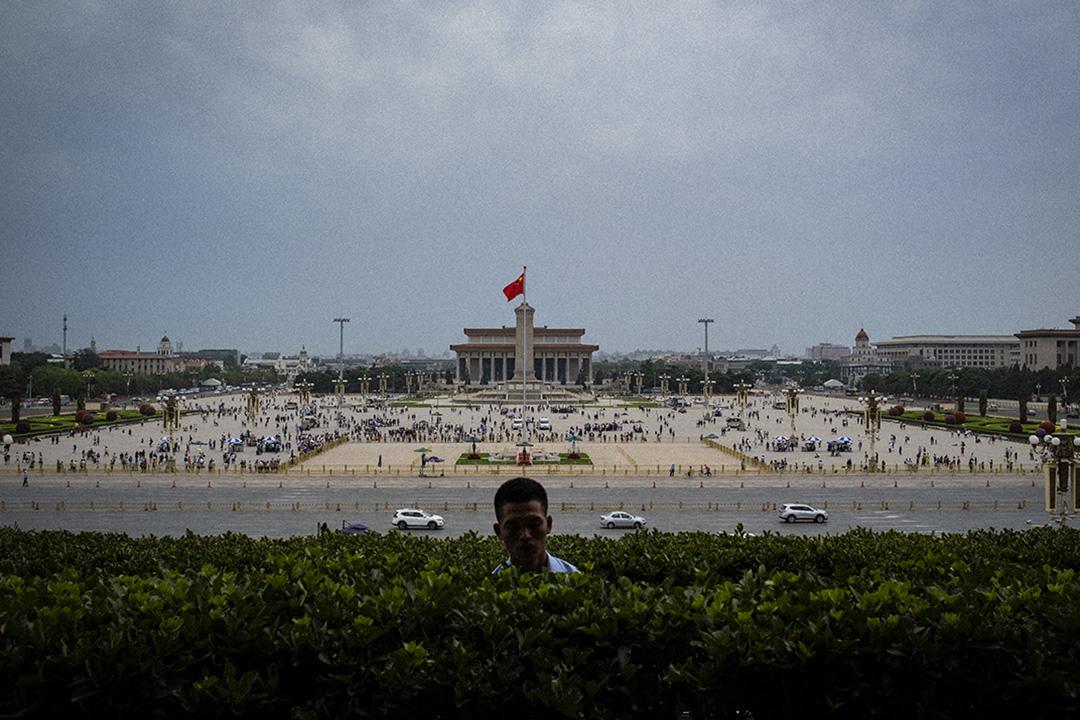 2018年6月3日,天安門廣場。
