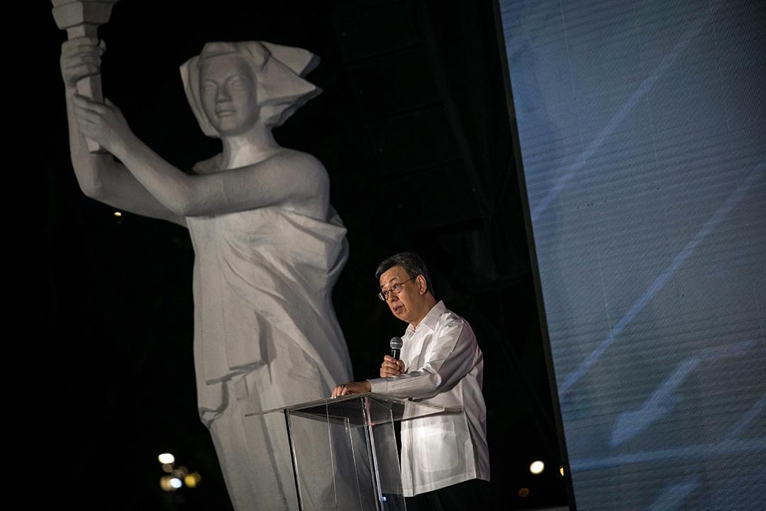副總統陳建仁更親自抵達台北六四晚會致詞,為台灣官方歷來參與六四紀念活動層級最高者。