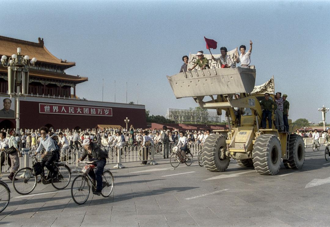 1989年,天安門運動。