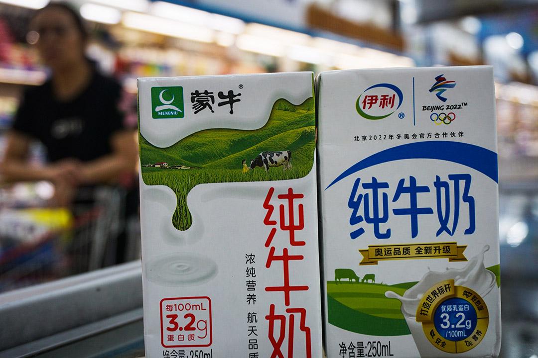 伊利舉報蒙牛以與外企合作的方式進入冬奧「破壞國家大局」。 圖:Imagine China