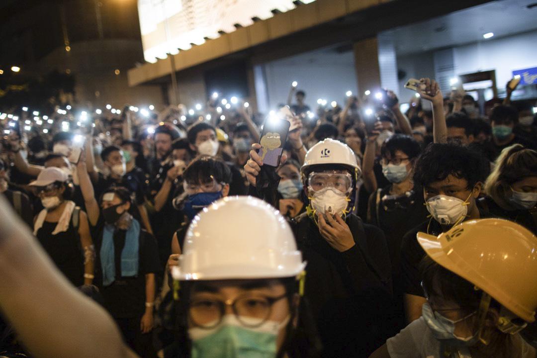 2019年6月21日,示威者首次包圍警察總部,觀乎當晚截至9點幾的連登熱門帖文,已預料他們不會發起大型衝擊。