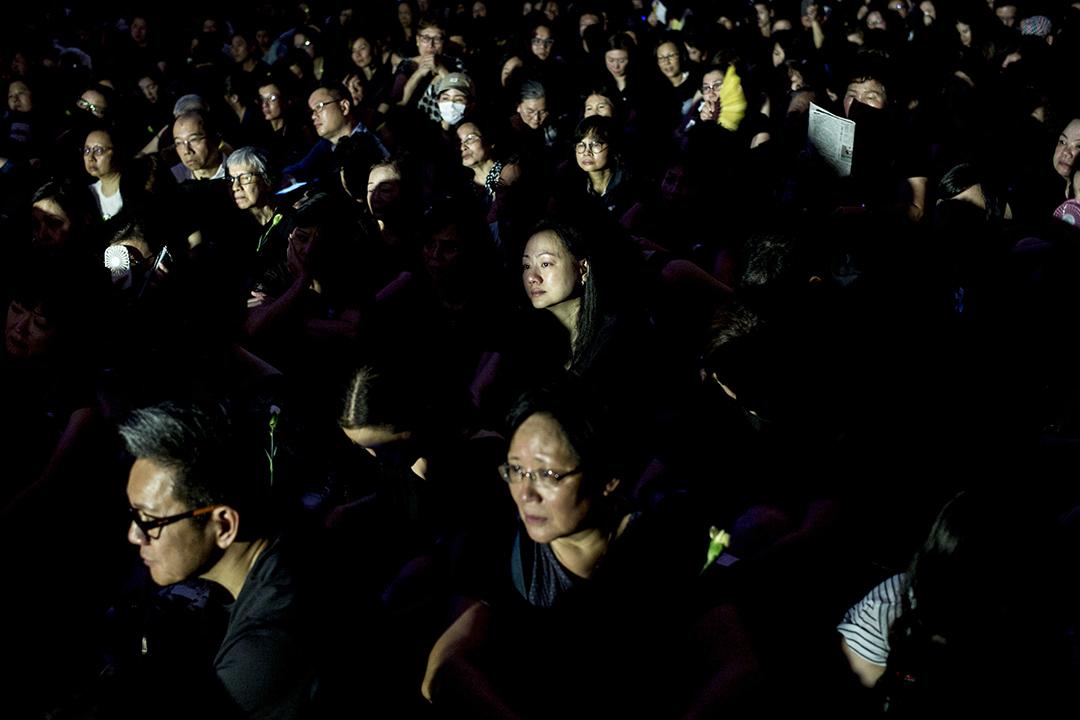 2019年6月14日,約六千名香港母親身穿黑衣,於中環遮打花園舉行「香港媽媽反送中集氣大會」。