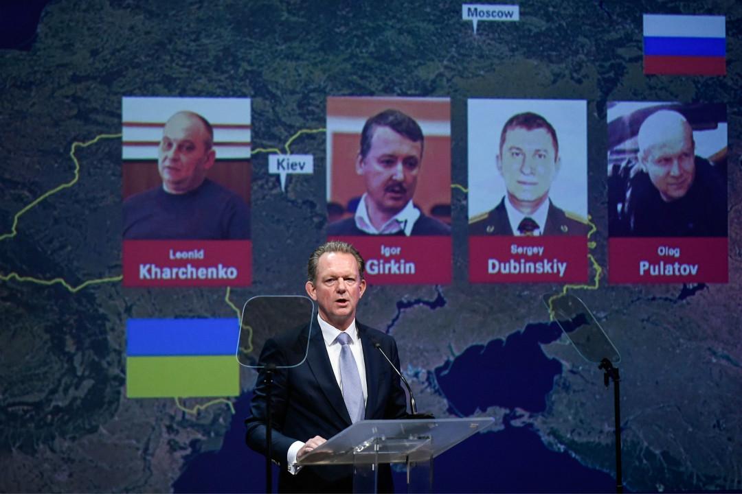 2019年6月19日,荷蘭首席檢察官弗雷德·韋斯特貝克(Fred Westerbeke)宣布,經對馬航 MH17 空難調查,對三名俄羅斯人和一名烏克蘭人提起刑事訴訟。 攝:John Thys/Getty Images